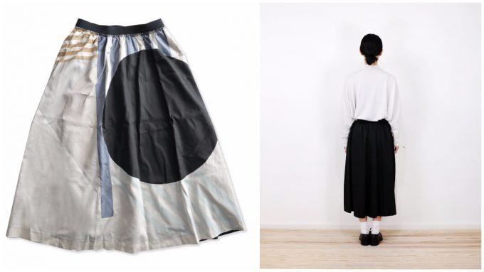 スポークンワーズプロジェクト gum skirt circle&stripes