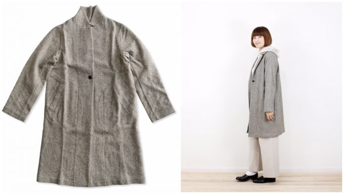 エヴァムエヴァのロングジャケット
