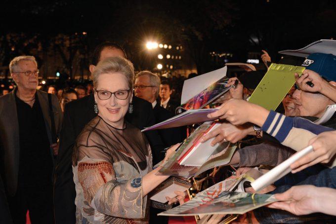 「東京国際映画祭」では世界のスターに出会えるチャンスも