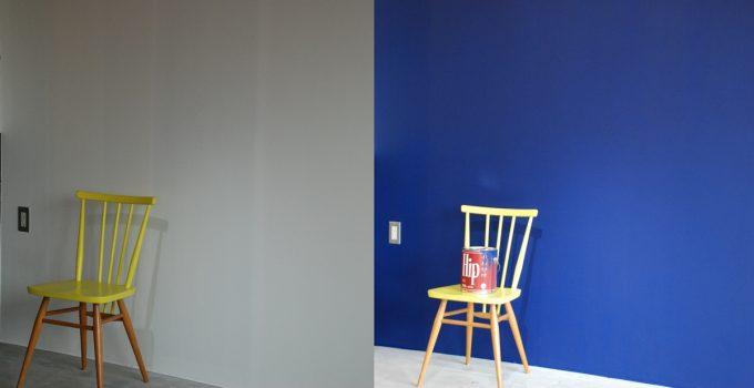 カラーワークスで体験できる壁ペイント