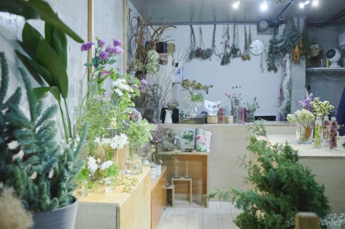 「宙花sorahana(そらはな)」の店内の様子
