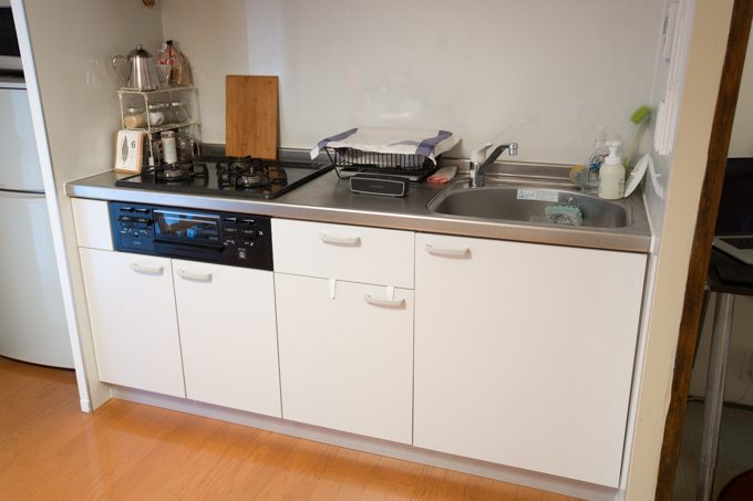 キレイに整頓されたキッチン