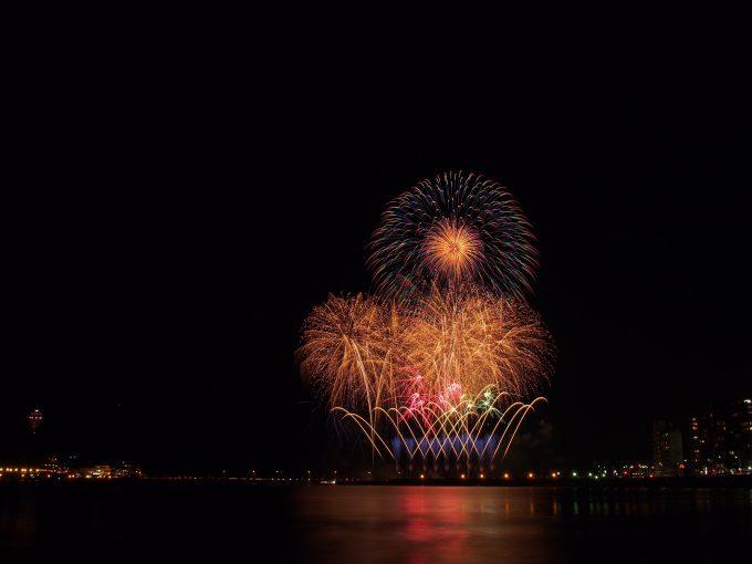 江ノ島の花火