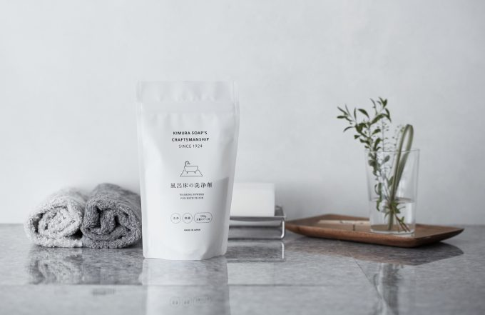 「木村石鹸」の風呂床用の洗剤