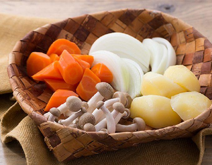 シチューに使う野菜