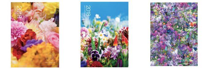 蜷川実花さんのブランドとコラボした手帳の写真