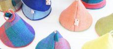 テキスタイル長尾の山帽子キッチンミトン