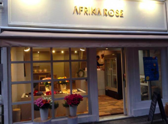 「AFRIKA ROSE」の店頭の様子