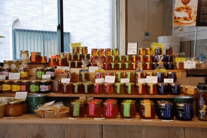 生蜂蜜の豊富なラインナップ