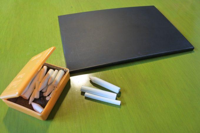 チョークアートで使用する道具