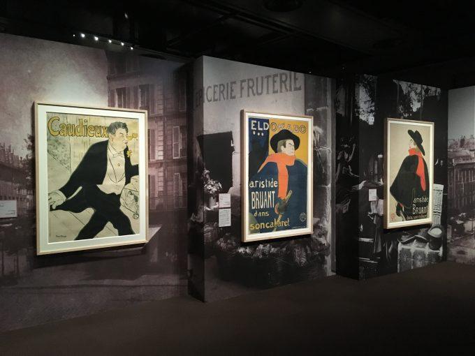 『パリ❤︎グラフィック ロートレックとアートになった版画・ポスター』展の様子