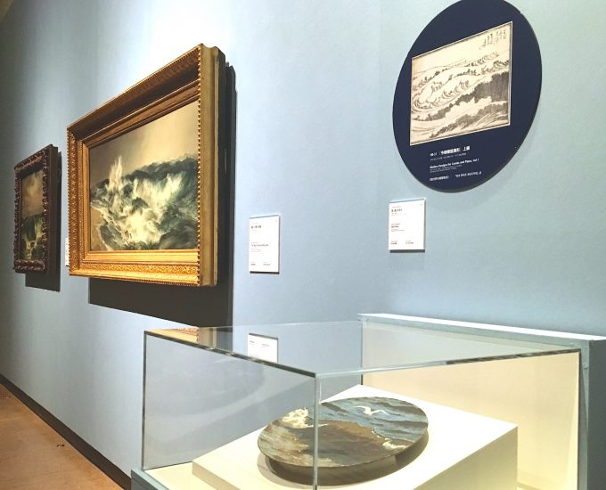 葛飾北斎作品と見比べる西洋名画