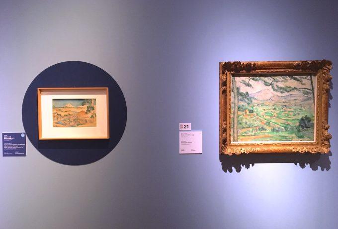 「北斎とジャポニスム」の展示の様子③