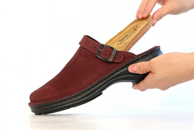 NAOTの靴に使われているインソールの写真