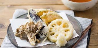 旬の野菜を味わう。お店で食べるような、サクサクの「秋野菜の天ぷら」の作り方