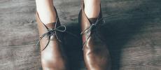 chausserの革靴