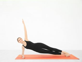 <体幹トレーニング・中級>女性らしいくびれを目指す。「サイドプランクシークエンス」