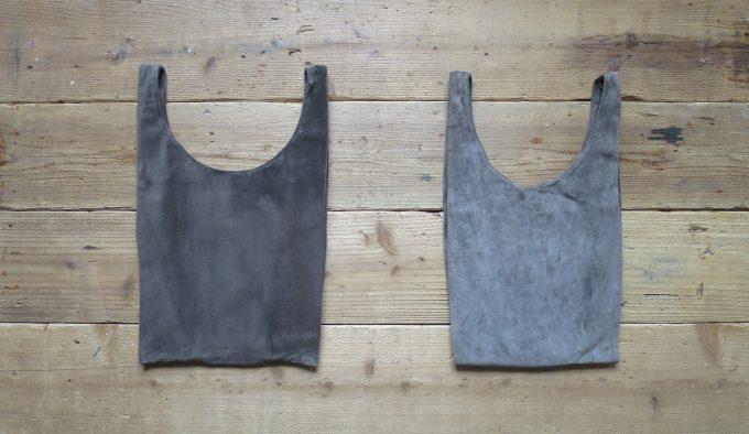 洗濯するごとに色合いが変わる「leatheria(レザリア)」レザーバッグ