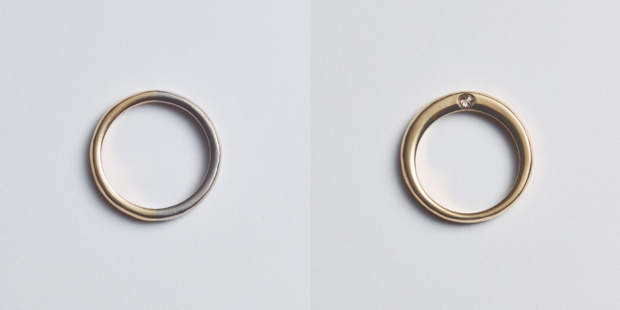 "「tmh.」の""bi color ring (two colors ring)""の写真"