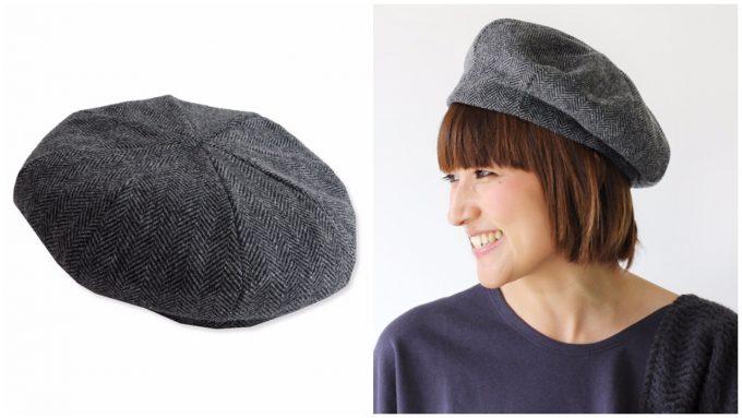 着こなしにスパイスを与える大人のおしゃれベレー帽「ニューヨークハット」