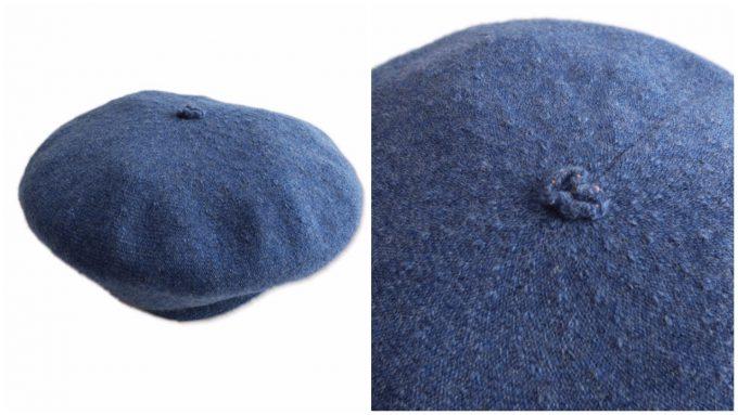 おしゃれで可愛い、大人のベレー帽「チサキ」