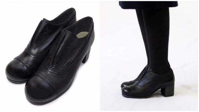 アウッタの革靴