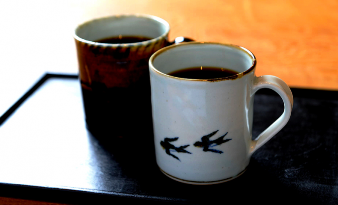 knot café(ノットカフェ)のコーヒーの写真