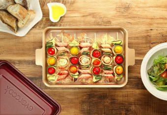 作ってそのまま食卓へ。洗う手間が省ける「evercook」のおしゃれなフライパン