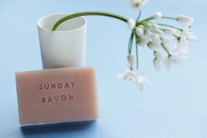 「Sunday Savon(サンデーサボン)」の石鹸の写真