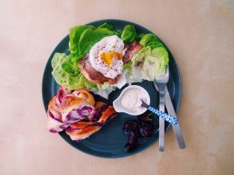 今が旬の色鮮やかな野菜を使ったパン作り。紫芋を練りこんだ「紫芋パン」のレシピ