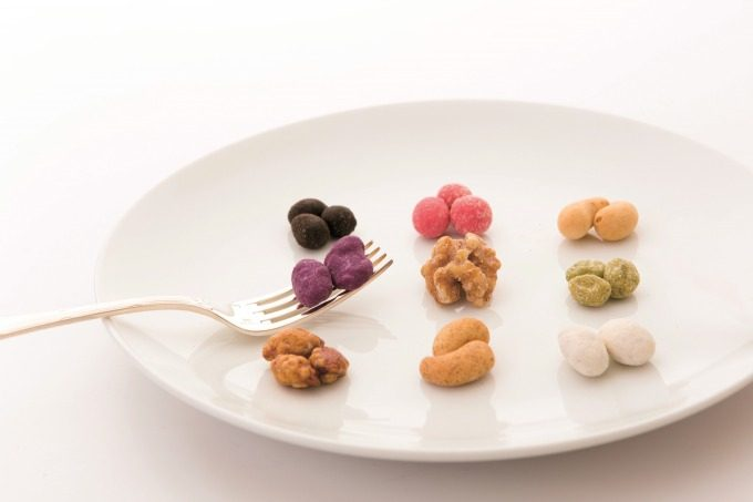 「Beans Nuts」の豆菓子の写真