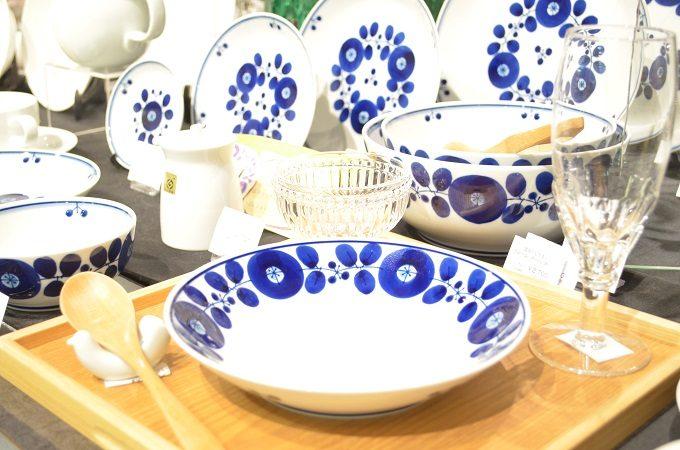 和食器を使った食卓の一例