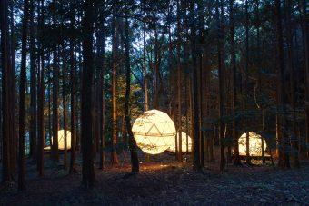まるで子どもの時のようなワクワクを。森に浮かぶテントに泊まる「INN THE PARK」
