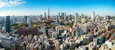 東京の空撮風景