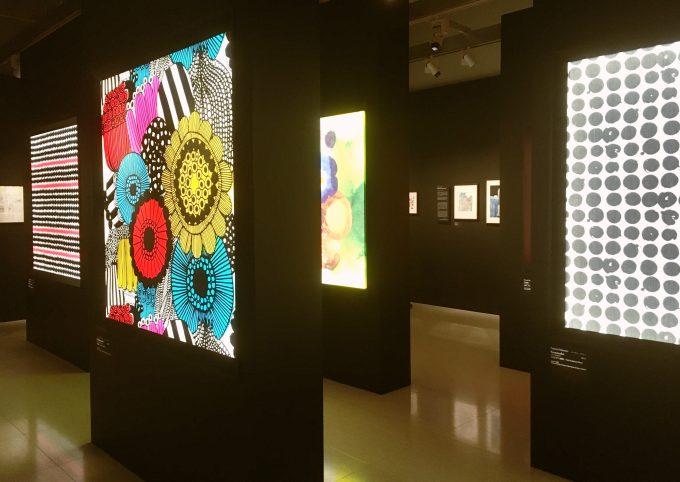 マリメッコのパターンデザイナーの作品群