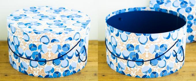 「BOX&NEEDLE」のハットボックスの写真