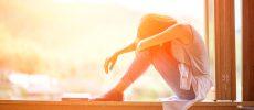 孤独を感じる女性