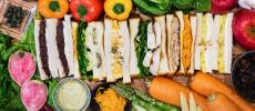 「spread it(スプレッドイット)」のサンドイッチの写真