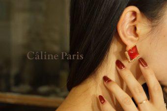 冬のファッションのポイントに。パリ発「Câline Paris」のイヤーアクセサリー