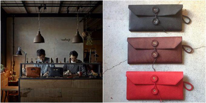 「safuji(さふじ)」の長財布の写真