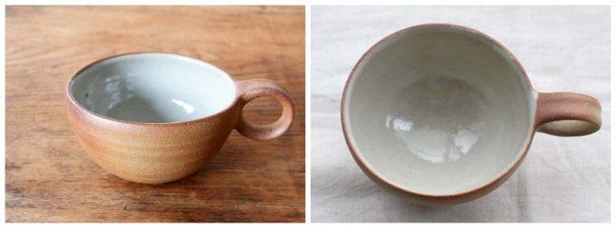 川尻製陶所さんの満月スープカップの写真