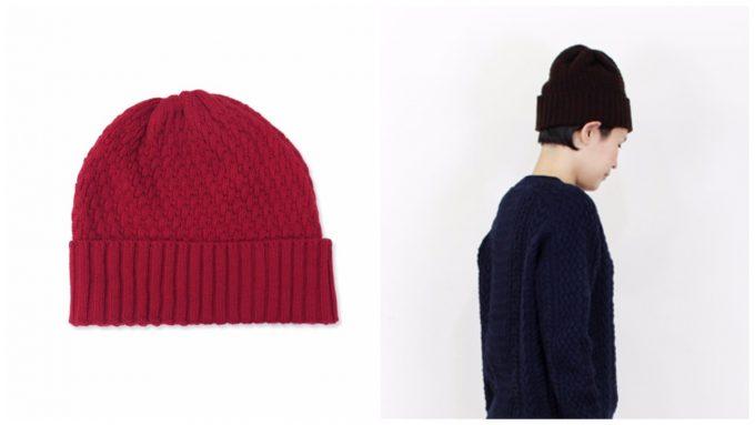 MARCOMONDE(マルコモンド)のニット帽の写真