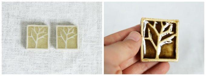 後藤奈々さんの作品、箸置きの写真