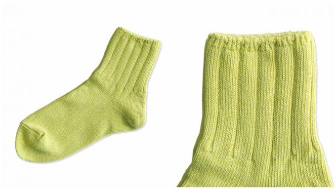 ラッキーソックスの国産コットン靴下の写真