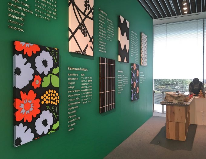 フィンランドのブランド、マリメッコの展示会