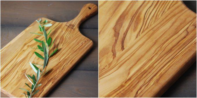 BERARDのオリーブウッドキッチンアイテム『カッティングボード』