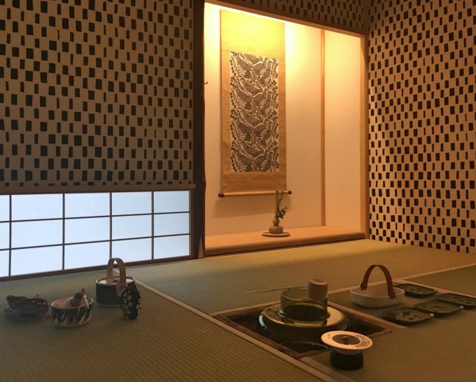 マリメッコが、日本の茶室文化とコラボレーション