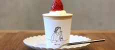 BRICK LANE 苺のカップケーキ