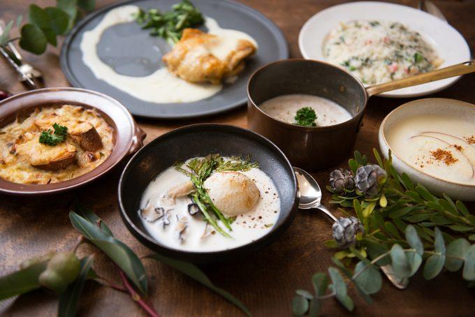 フードクリエイター松島由恵さんが作ったお料理の数々
