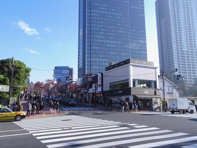 神楽坂の街並みの写真